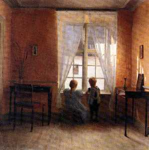 Peter Ilsted - peder vilhelm ilsted ved ..