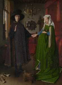 Jan Van Eyck - Retrato de Giovanni ( ) A..