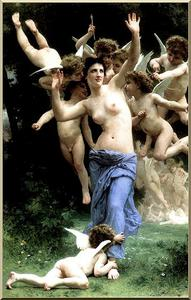 William Adolphe Bouguereau - Invadindo Cupid-s Reino