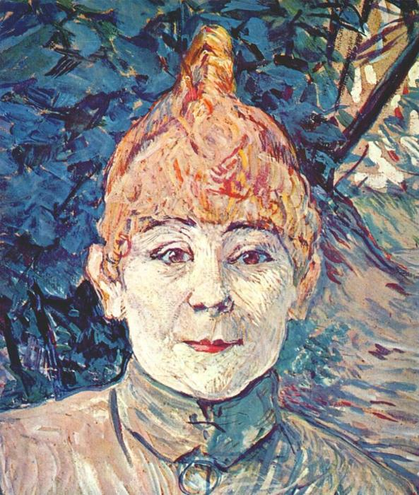 Casque d Or, óleo por Henri De Toulouse Lautrec (1864-1901, France)