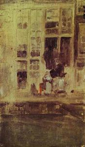 James Abbott Mcneill Whistler - o cinza casa