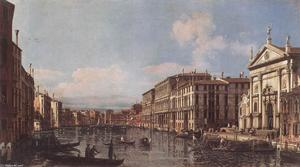Bernardo Bellotto - Visto do grande canal em ..