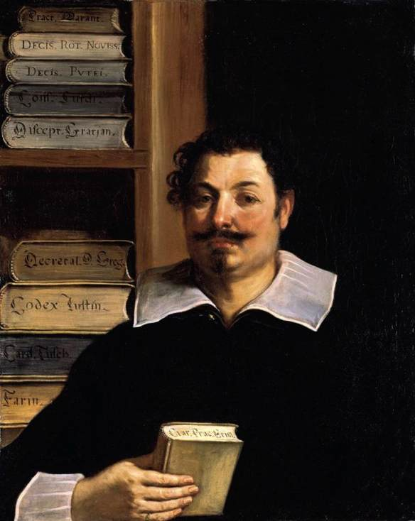 Retrato de Francesco Righetti, óleo por Guercino (Barbieri, Giovanni Francesco) (1591-1666, Italy)