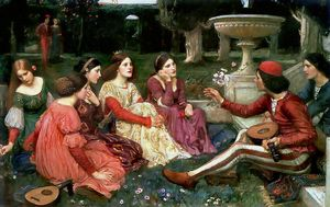 John William Waterhouse - Conto do Decameron