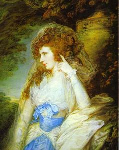 Thomas Gainsborough - Maria , Senhora bate dudley