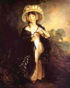 Thomas Gainsborough - Senhorita Haverfield
