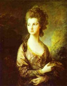 Thomas Gainsborough - O Honorável Sra Graham