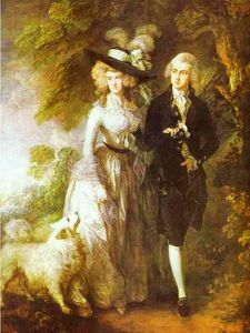 Thomas Gainsborough - william hallett e sua esposa elizabeth , nascida Stephen