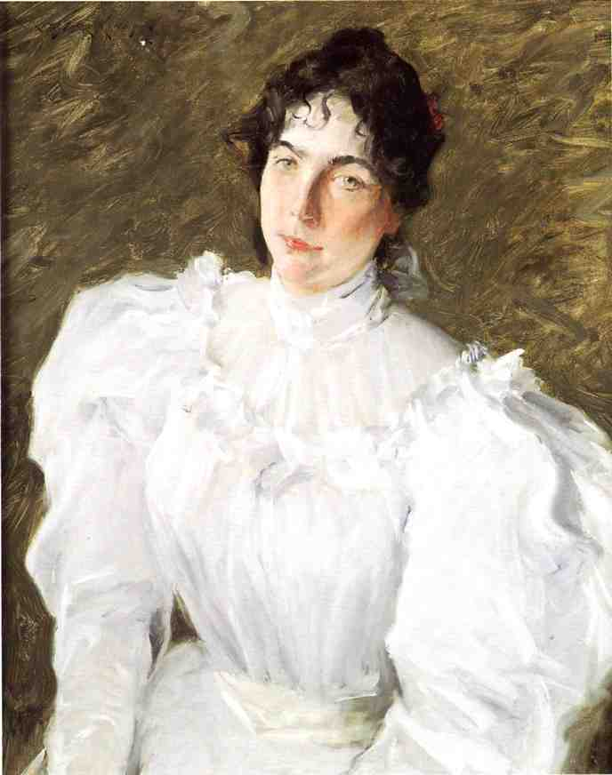 Retrato de Virginia Gerson 1  , Petróleo por William Merritt Chase (1849-1916, United States)