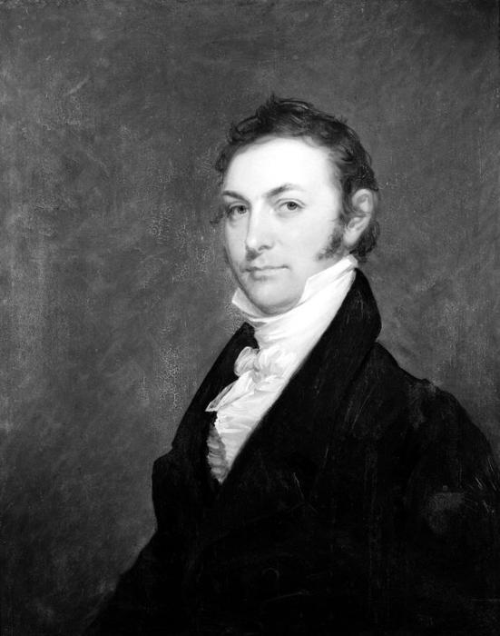 Thomas Smith, óleo por Matthew Harris Jouett (1788-1827, United States)