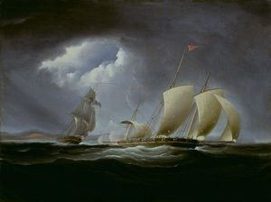Thomas Birch - Captura da Tripoli pela Empres..
