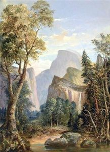 William Smith Jewett - Uma vista de Yosemite