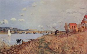 Alfred Sisley - o ponte na argenteuil