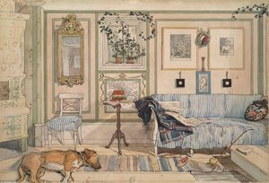 Carl Larsson - Canto Cosy