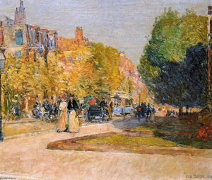 Frederick Childe Hassam - Marlborough Rua , De bost..