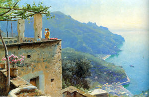Peder Mork Monsted - O Litoral Ravello