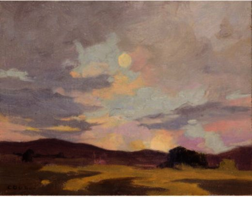 Moving In Clouds por Eanger Irving Couse (1866-1936, United States) | ArtsDot.com