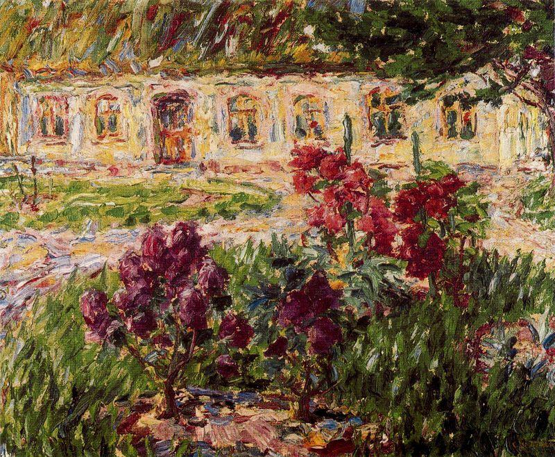 Caça Lodge at Alsem por Emile Nolde (1867-1956, Germany)