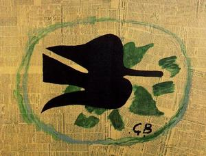 Georges Braque - Bird In A Fronda