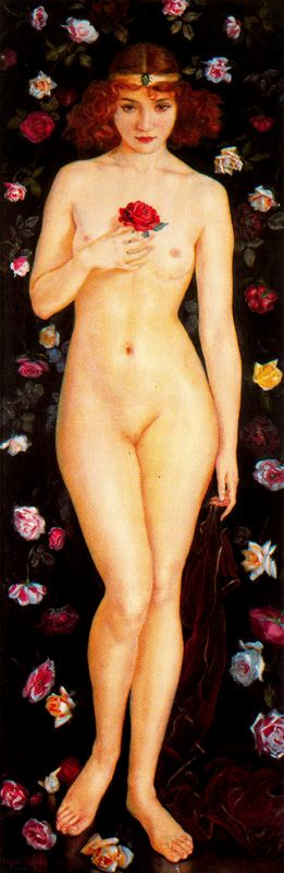 Rose de Granada por Jorge Apperley (George Owen Wynne Apperley) (1884-1960, United Kingdom)