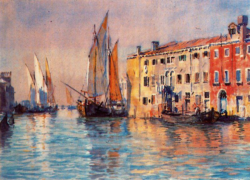 Venice 1 por Jorge Apperley (George Owen Wynne Apperley) (1884-1960, United Kingdom)