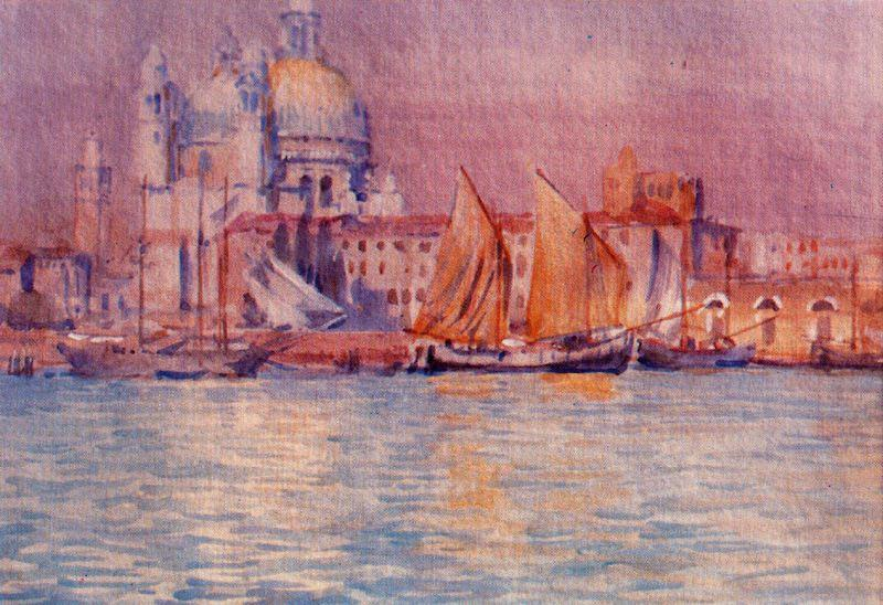Venice 4 por Jorge Apperley (George Owen Wynne Apperley) (1884-1960, United Kingdom)