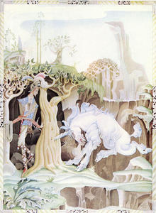 Kay Rasmus Nielsen - the unicorn ( Valiant Pequeno Alfaiate )
