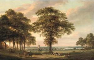 Paul Sandby - woolwich do conduit hill ..