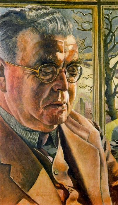 Retrato of J . Eu . Behrend por Stanley Spencer (1891-1959, United Kingdom) | ArtsDot.com