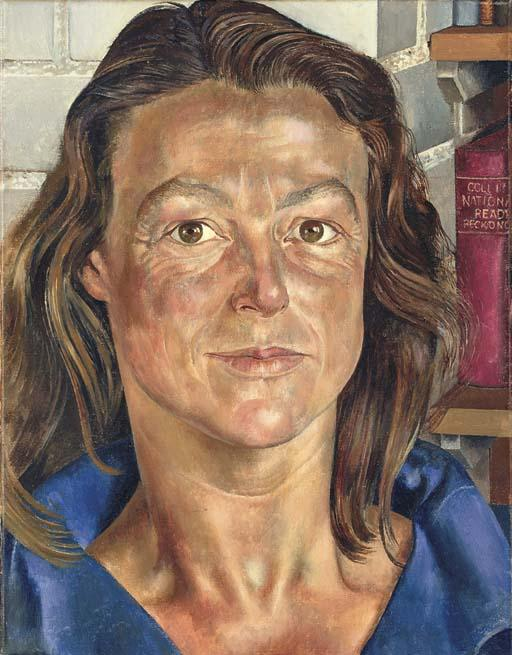 Retrato de Sibila Williams por Stanley Spencer (1891-1959, United Kingdom)