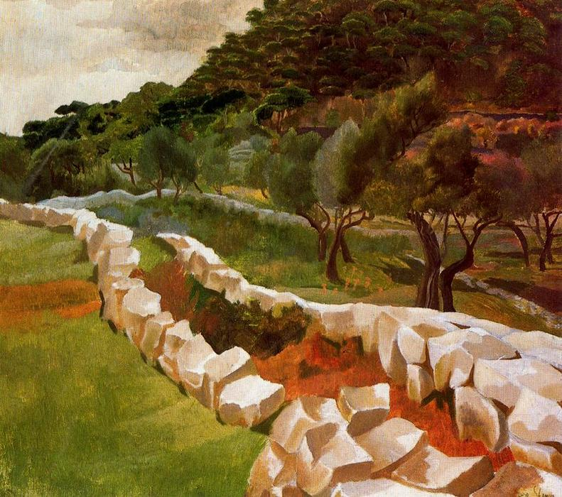 Ragusa (Dubrovnik) por Stanley Spencer (1891-1959, United Kingdom)