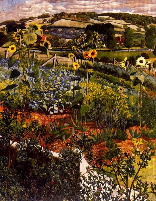 Rowborough. Cookham por Stanley Spencer (1891-1959, United Kingdom)