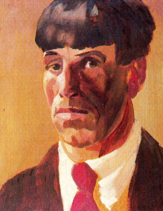 Auto-retrato por Stanley Spencer (1891-1959, United Kingdom) | ArtsDot.com