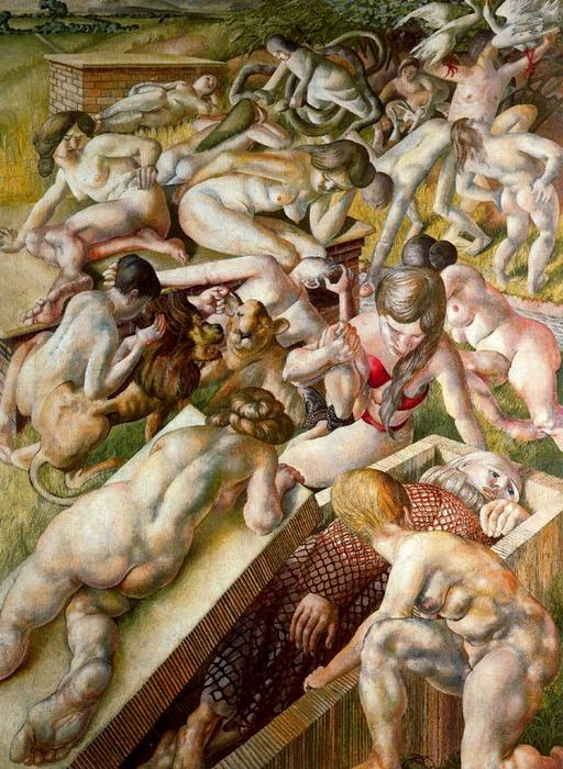 Sin título 1 por Stanley Spencer (1891-1959, United Kingdom)
