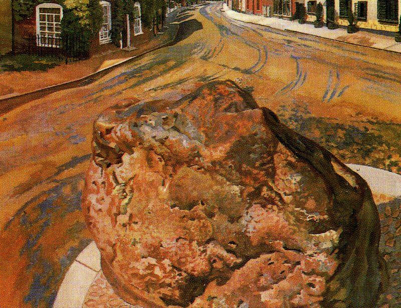 The Stone Tarry. Cookham por Stanley Spencer (1891-1959, United Kingdom) | Reprodução Da Arte | ArtsDot.com