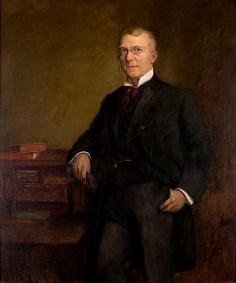 James Whitcomb Riley por Theodore Clement Steele (1847-1926, United States)