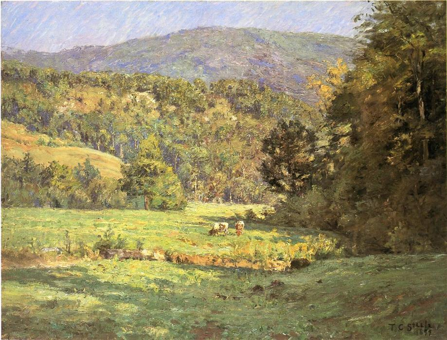 Roan Mountain, óleo sobre tela por Theodore Clement Steele (1847-1926, United States)