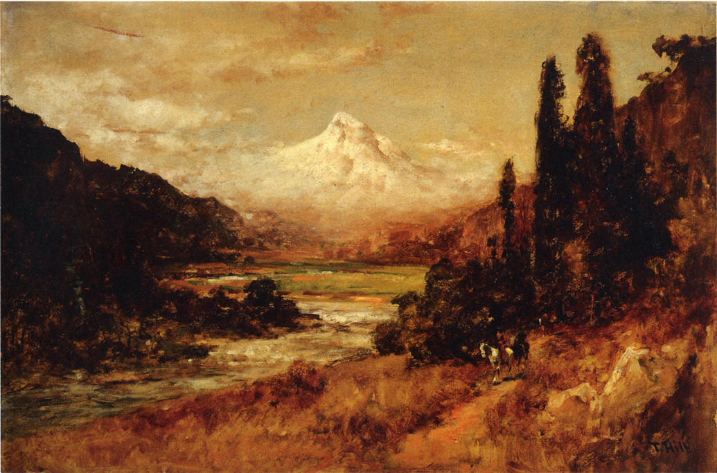 Monte Capuz 1 por Thomas Hill (1829-1908, United Kingdom)
