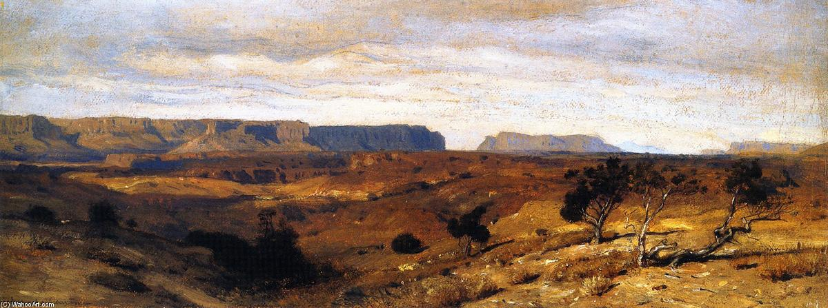 Colorado Canyon, óleo sobre tela por Samuel Colman (1832-1920, United Kingdom)