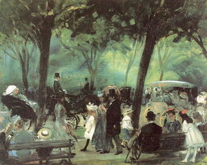 William James Glackens - o unidade central parque