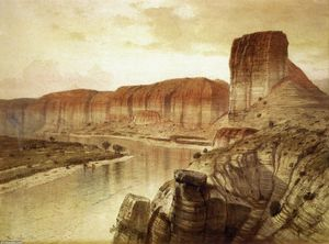 Samuel Colman - o green river , Wyoming
