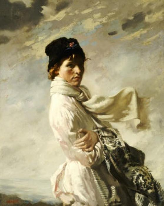 Em Dublin Bay, 1909 por William Newenham Montague Orpen (1878-1931, Ireland) | Copy Pintura | ArtsDot.com