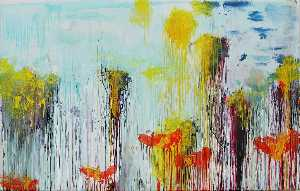Cy Twombly - Lepanto , painel 7