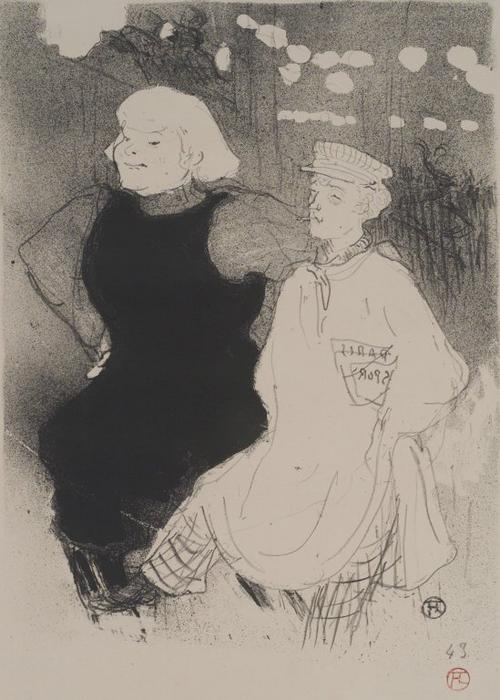 moulin rouge Eu `Union Franco Russo, 1894 por Henri De Toulouse Lautrec (1864-1901, France)