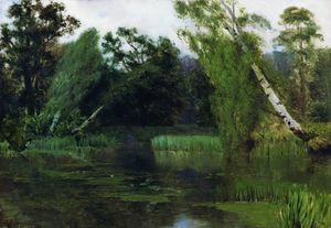 Isaak Ilyich Levitan - no parque