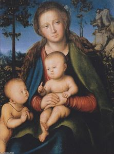Lucas Cranach The Elder - Madona