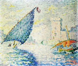 Paul Signac - Fort Saint-Jean, Marselha