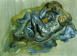 Salvador Dali - Sem título ( Depois -The Night- por michelangelo )