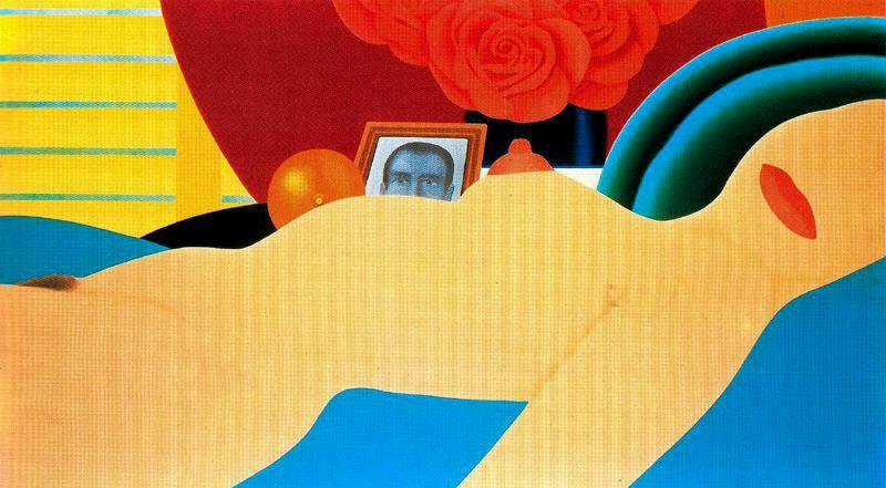 Nua No 1   por Tom Wesselmann (1931-2004, United States)