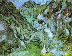 Vincent Van Gogh - O gully Peiroulets